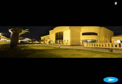 قصر فاخر للبيع تصميم راقي مع استراحة ضيافة
