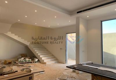 للبيع فيلا مودرن تصميم حديث جنوب الملك سلمان حي النرجس مساحة 515م شارع 15 جنوبي
