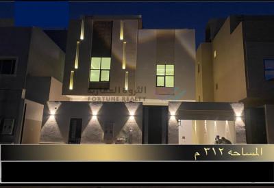 للبيع فيلا درج صاله وشقه شمال الرياض حي النرجس جنوب طريق الملك سلمان مساحه 312 م واجهه شماليه شارع 20