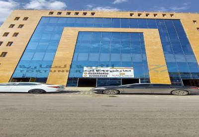 للايجار صالات تجارية على طريق الملك عبدالله بحي الحمراء