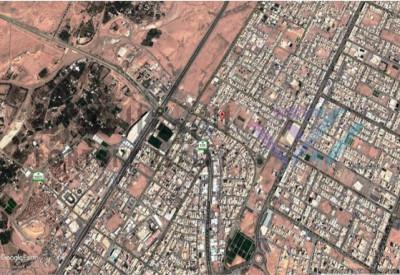 للبيع قطعتين سكنية (محافظة المجمعة )